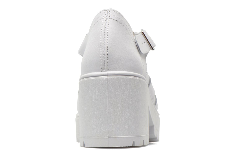 Sandales et nu-pieds Victoria Sandalia Tacon Blanc vue droite