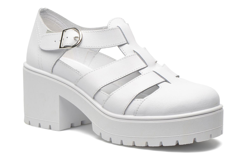 Sandales et nu-pieds Victoria Sandalia Tacon Blanc vue détail/paire