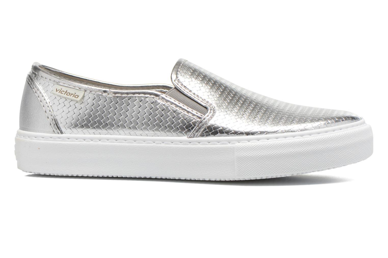 Sneaker Victoria Slip-on Metalizada silber ansicht von hinten