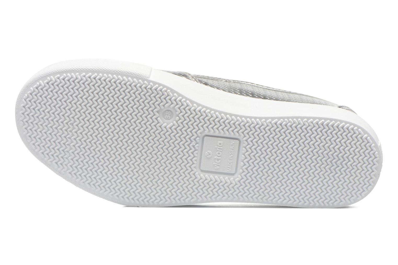 Sneaker Victoria Slip-on Metalizada silber ansicht von oben