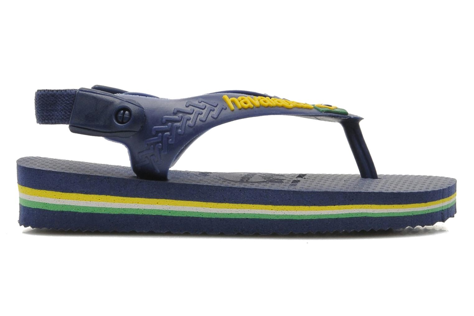 Baby Brazil Logo Navy Yellow
