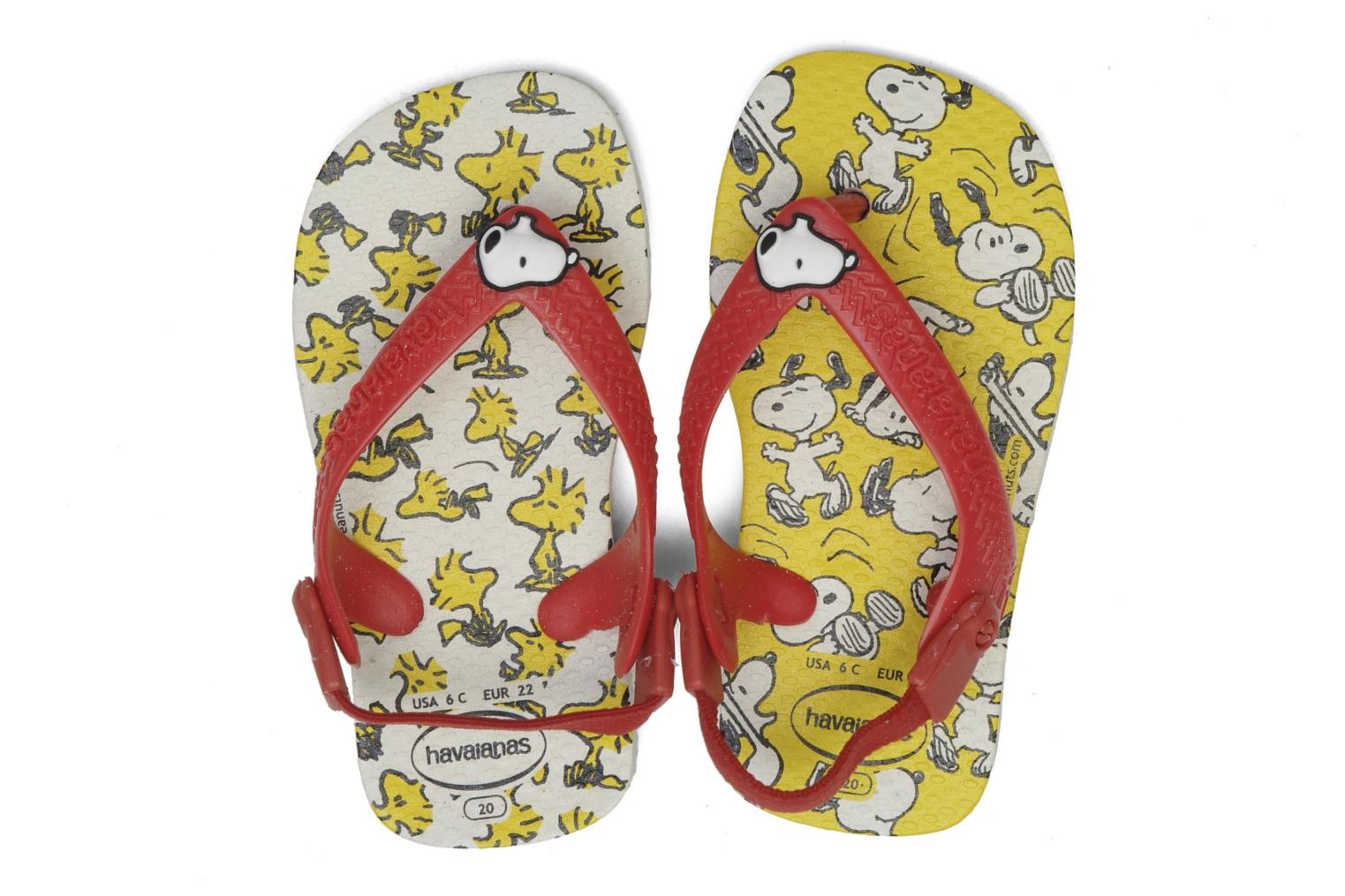 Tongs Havaianas Baby Snoopy Multicolore vue 3/4