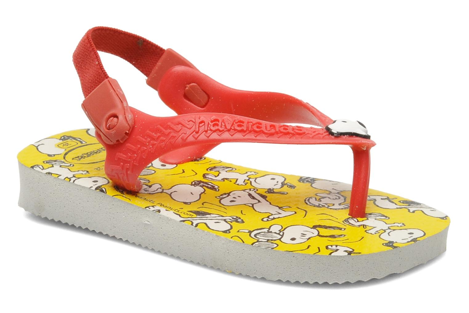Tongs Havaianas Baby Snoopy Multicolore vue détail/paire