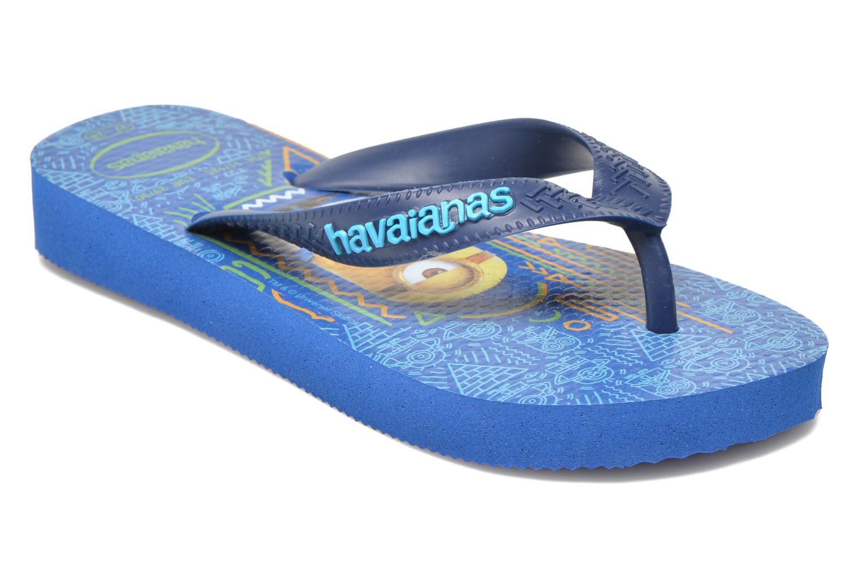 Zehensandalen Havaianas Kids Minions blau detaillierte ansicht/modell