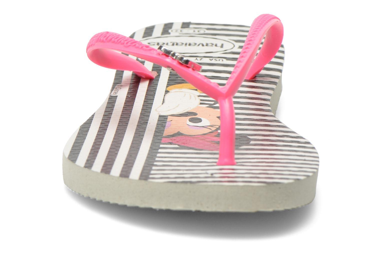 Tongs Havaianas Kids Slim Disney Cool Noir vue portées chaussures