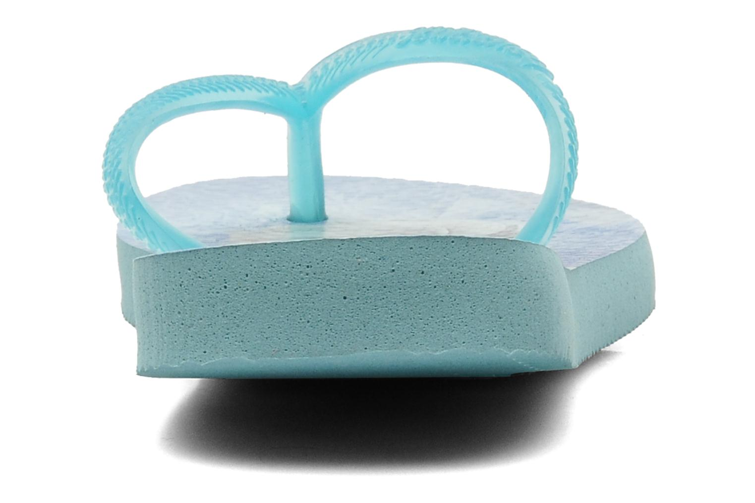 Flip flops Havaianas Kids Slim Frozen Blue view from the right