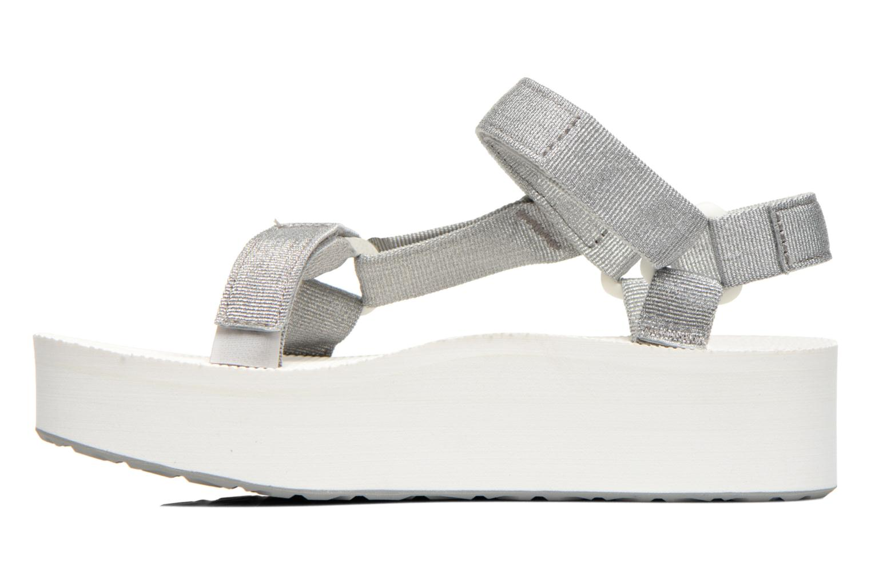 Sandali e scarpe aperte Teva Flatform Universal Argento immagine frontale