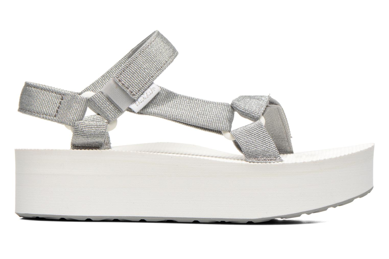 Sandali e scarpe aperte Teva Flatform Universal Argento immagine posteriore