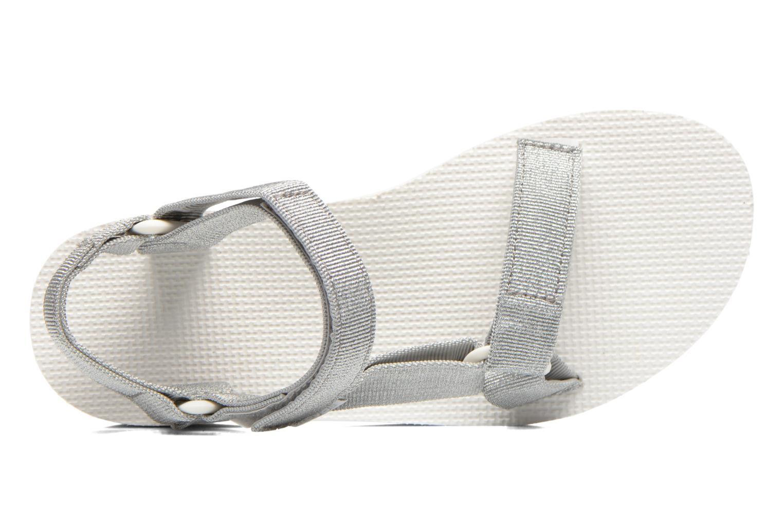 Sandali e scarpe aperte Teva Flatform Universal Argento immagine sinistra