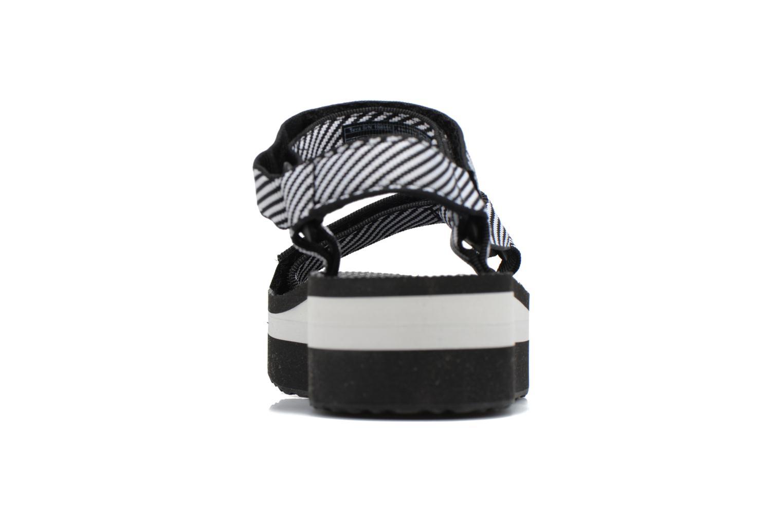 Sandali e scarpe aperte Teva Flatform Universal Nero immagine destra