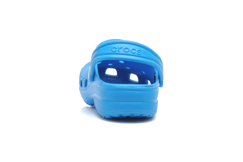Sandales et nu-pieds Crocs ClassicKids Bleu vue droite
