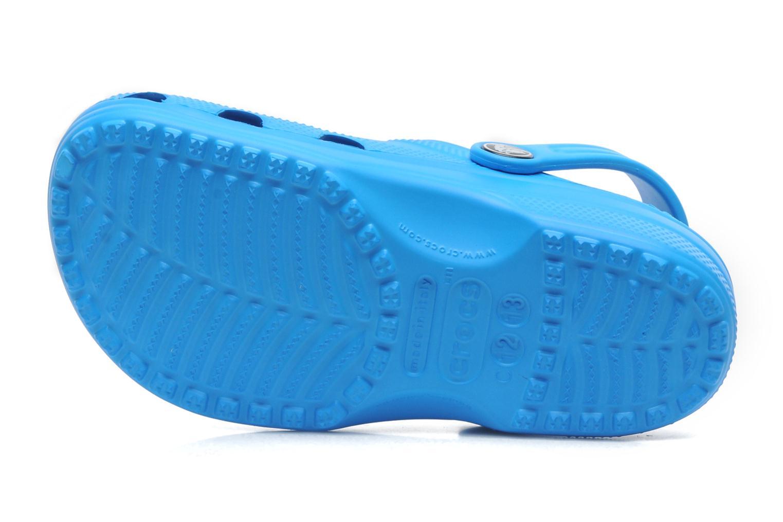 Sandales et nu-pieds Crocs ClassicKids Bleu vue haut