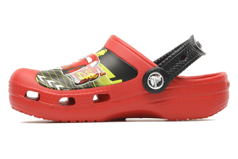 Sandalen Crocs CCLightningMcQueenClog rot ansicht von vorne