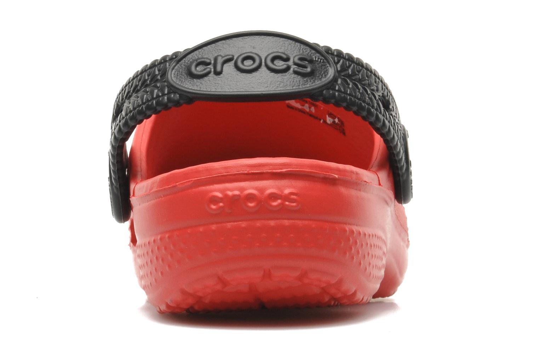 Sandalen Crocs CCLightningMcQueenClog Rood rechts