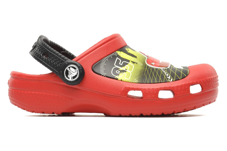 Sandalen Crocs CCLightningMcQueenClog rot ansicht von hinten
