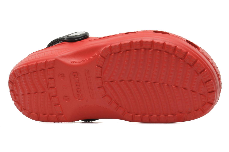 Sandalen Crocs CCLightningMcQueenClog rot ansicht von oben