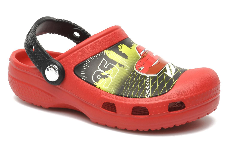 Sandalen Crocs CCLightningMcQueenClog rot detaillierte ansicht/modell