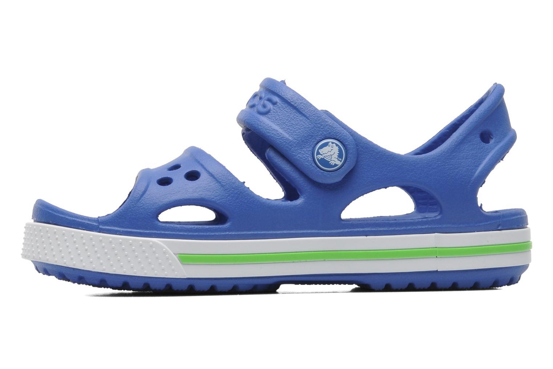 Sandales et nu-pieds Crocs CrocbandIISandalPS Bleu vue face