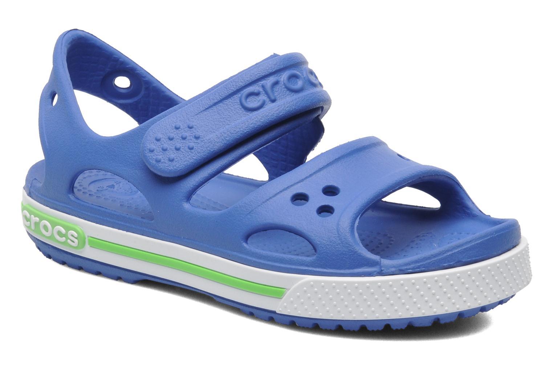 Sandales et nu-pieds Crocs CrocbandIISandalPS Bleu vue détail/paire