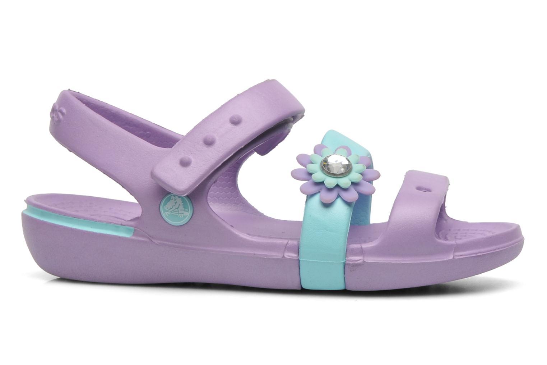 Sandales et nu-pieds Crocs KeeleyPetalCharmSandalPS Multicolore vue derrière