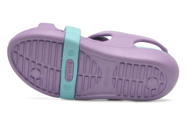 Sandalen Crocs KeeleyPetalCharmSandalPS mehrfarbig ansicht von oben