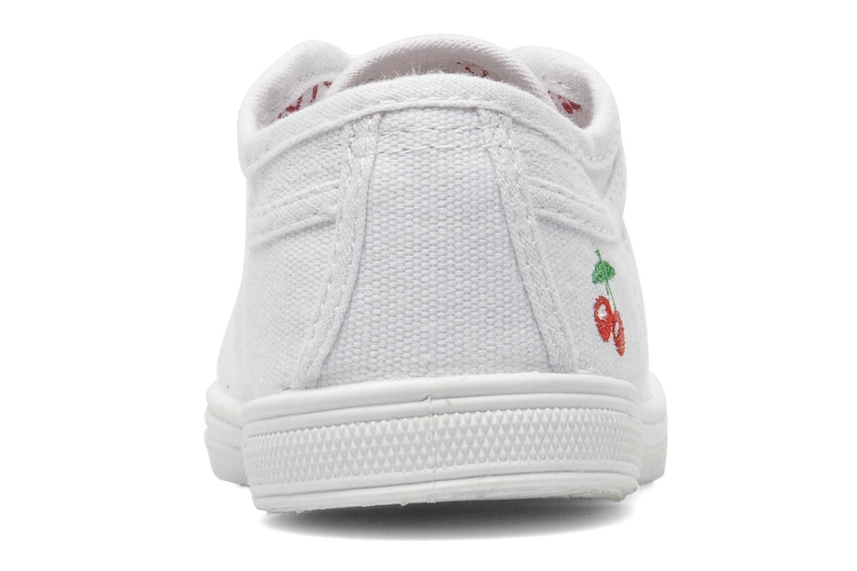 Sneakers Le temps des cerises Lc Basic 02 Bianco immagine destra
