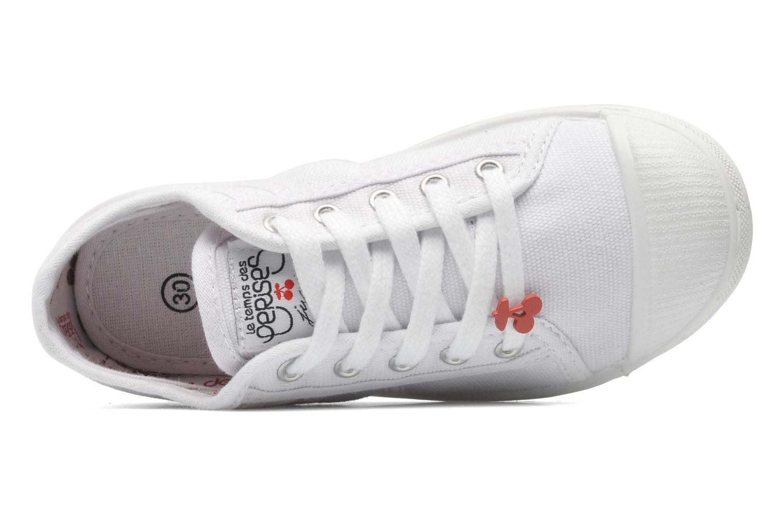 Sneakers Le temps des cerises Lc Basic 02 Bianco immagine sinistra