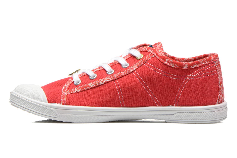 Sneakers Le temps des cerises Lc Basic 02 Rosso immagine frontale