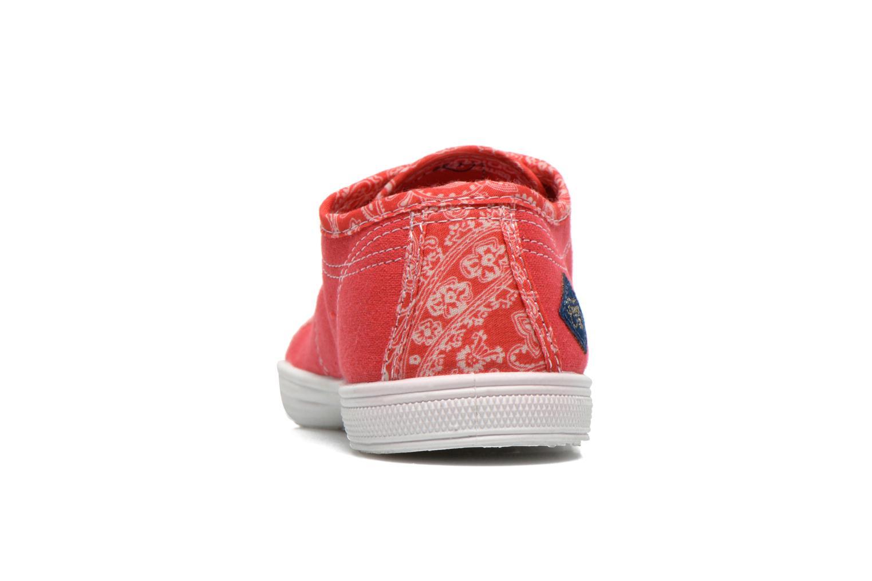 Sneakers Le temps des cerises Lc Basic 02 Rosso immagine destra