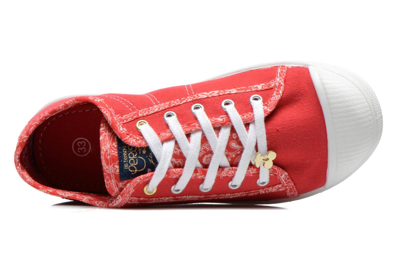 Sneakers Le temps des cerises Lc Basic 02 Rosso immagine sinistra