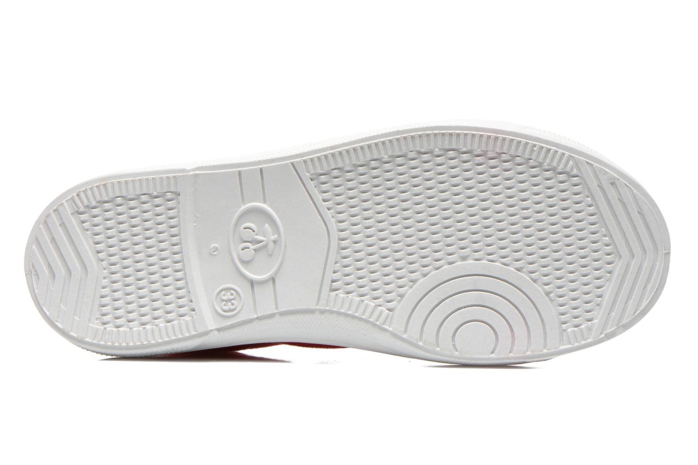 Sneakers Le temps des cerises Lc Basic 02 Rosso immagine dall'alto