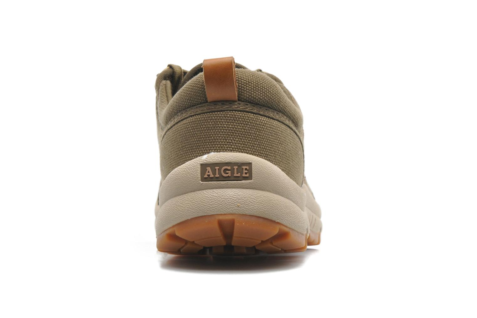 Trainers Aigle Tenere Light Low Cvs Green view from the right