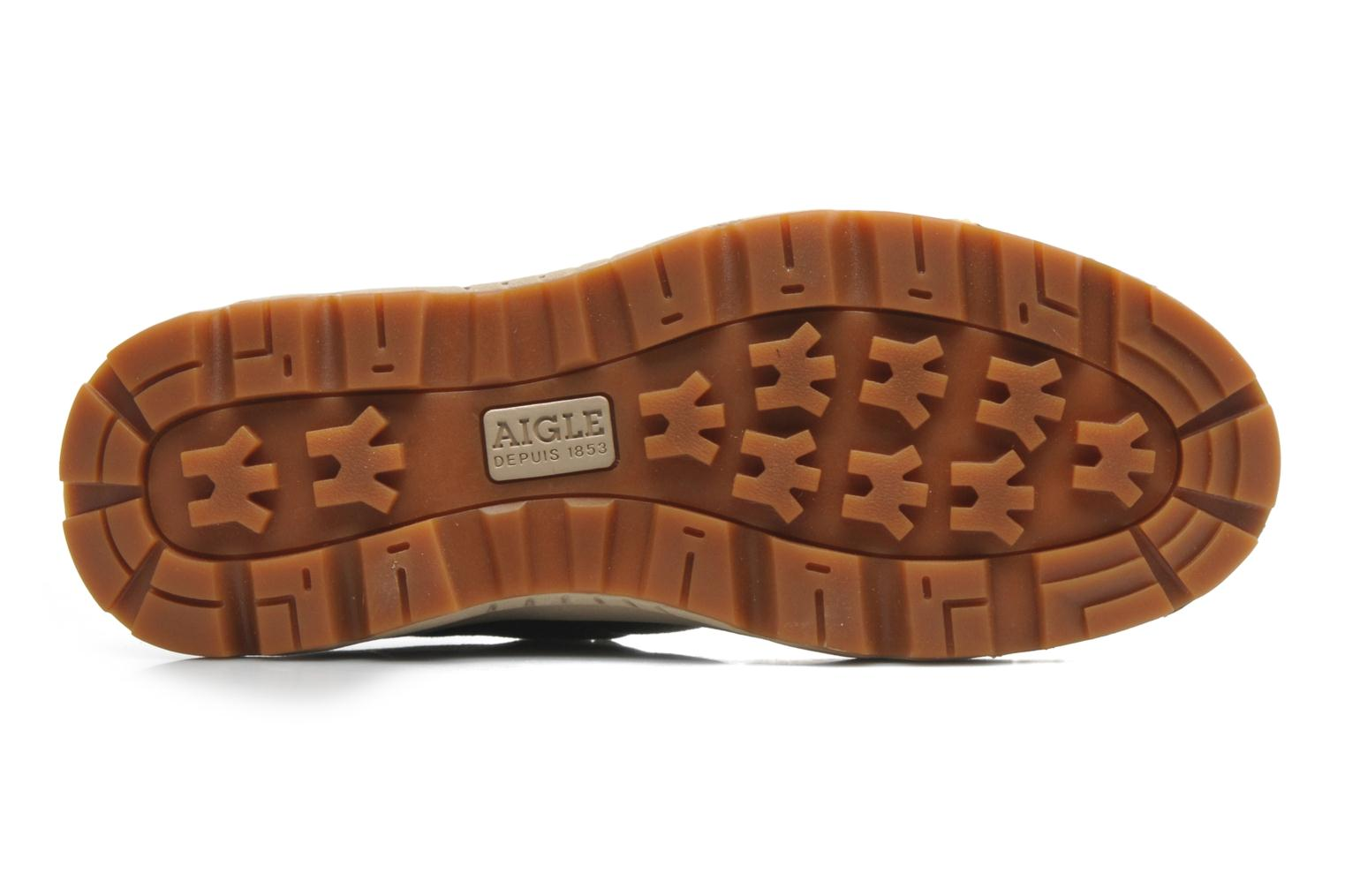 Trainers Aigle Tenere Light Low Cvs Green view from above