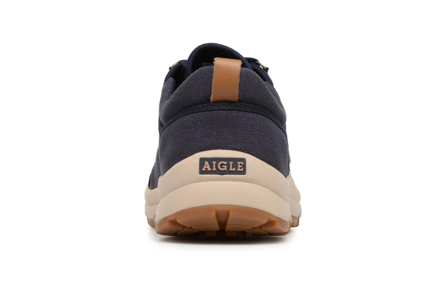 Trainers Aigle Tenere Light Low Cvs Blue view from the right