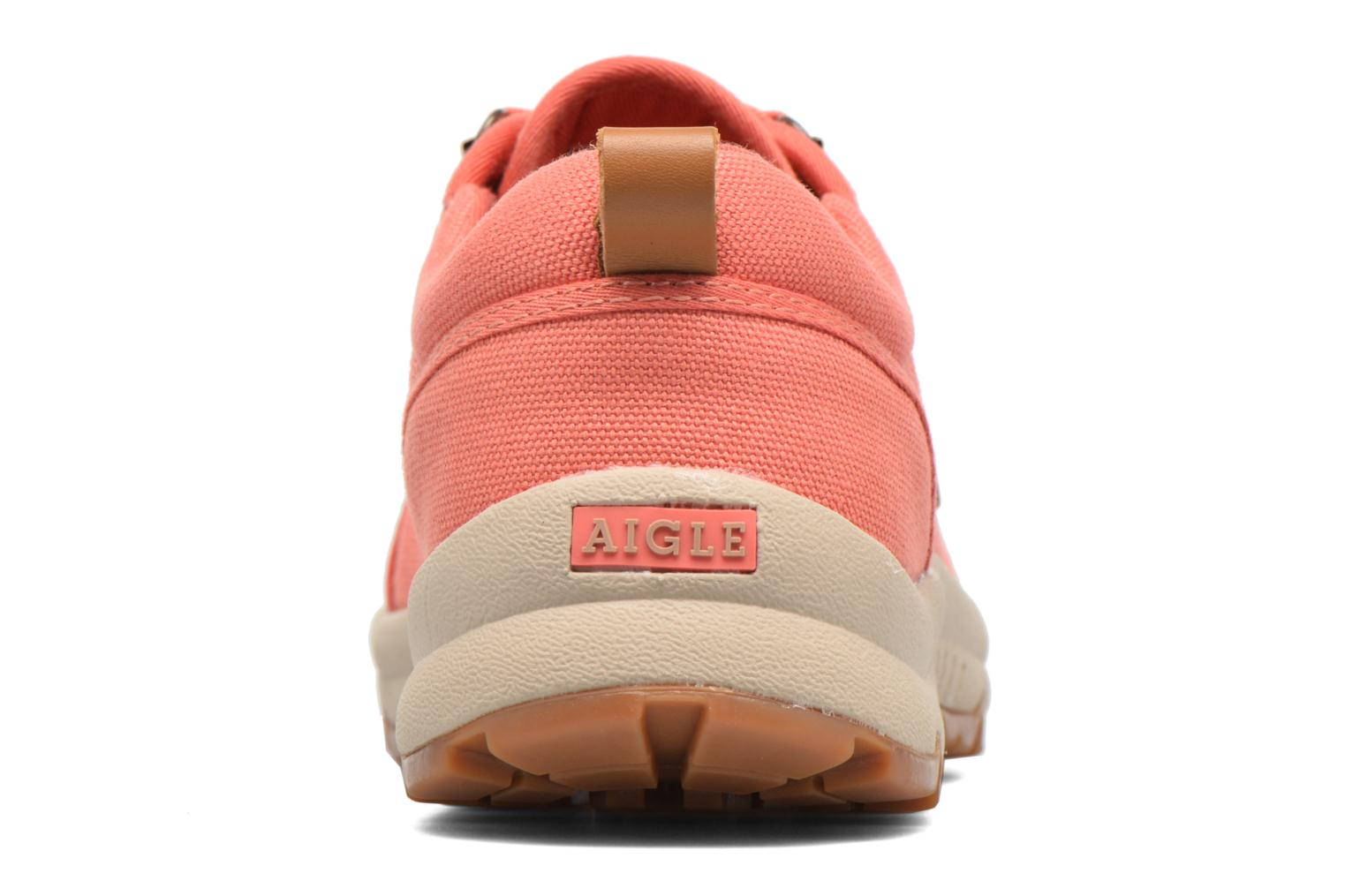 Baskets Aigle Tenere Light Low W Cvs Rose vue droite