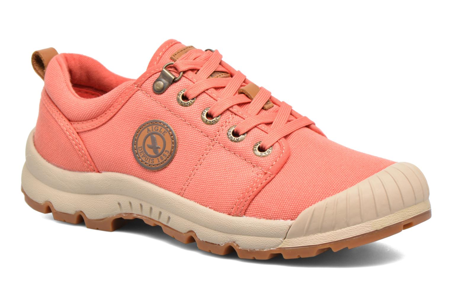 Baskets Aigle Tenere Light Low W Cvs Rose vue détail/paire