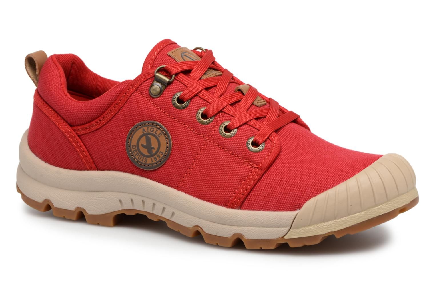 Baskets Aigle Tenere Light Low W Cvs Rouge vue détail/paire