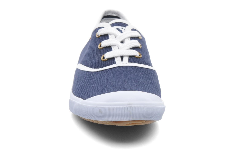 Baskets Aigle Lauriel Bleu vue portées chaussures