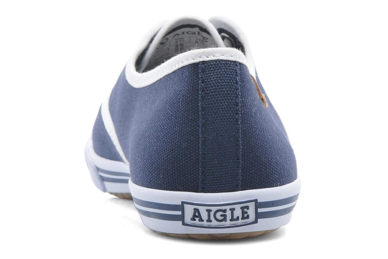 Baskets Aigle Lauriel Bleu vue droite