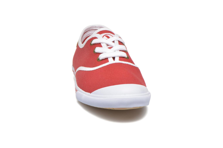 Baskets Aigle Lauriel Rouge vue portées chaussures
