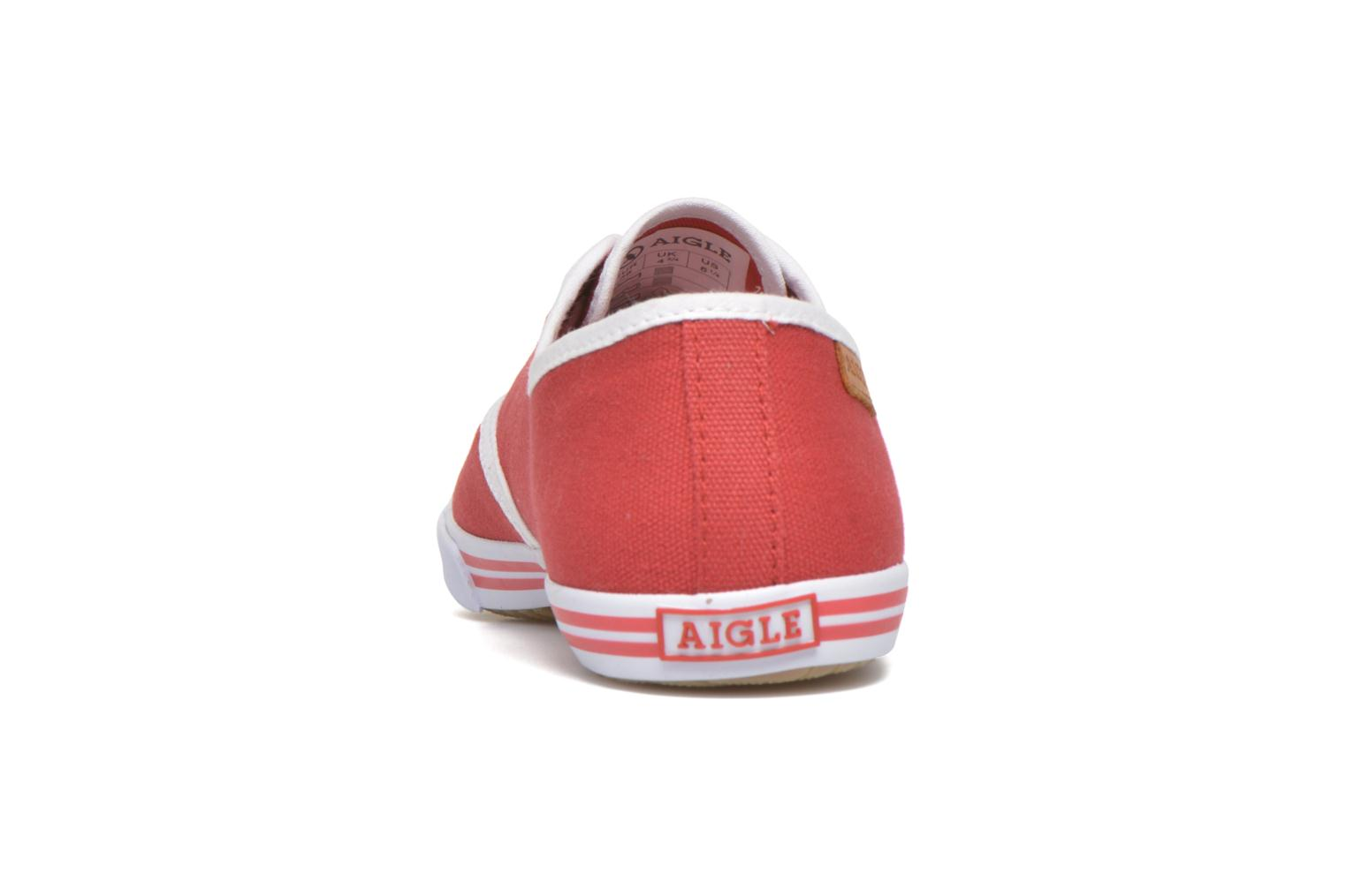 Sneakers Aigle Lauriel Rood rechts