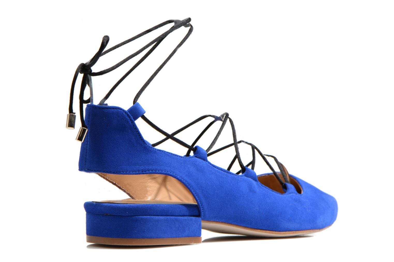 Ballet pumps Made by SARENZA Seven Tease #3 Blue front view
