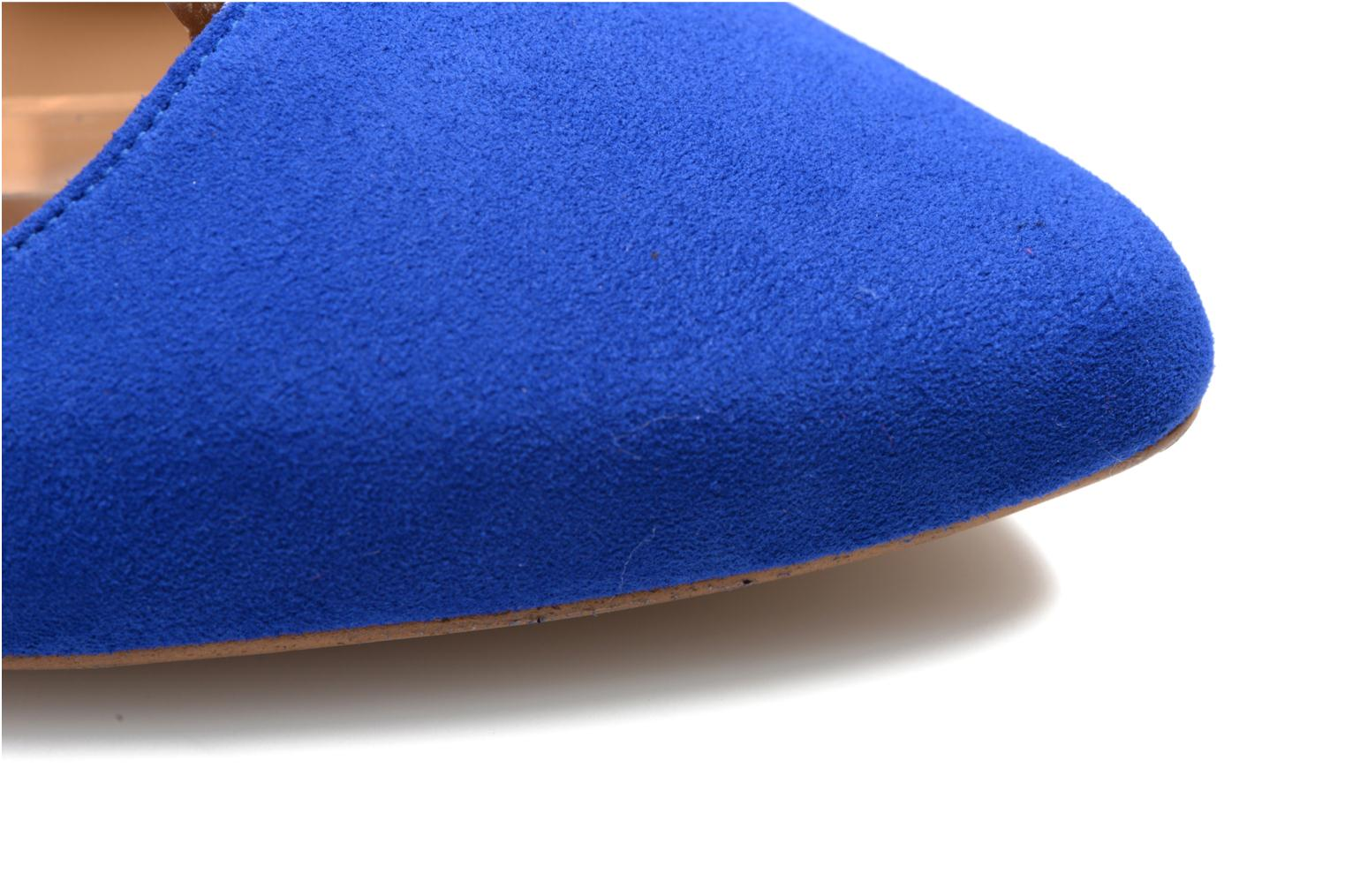 Ballet pumps Made by SARENZA Seven Tease #3 Blue view from the left