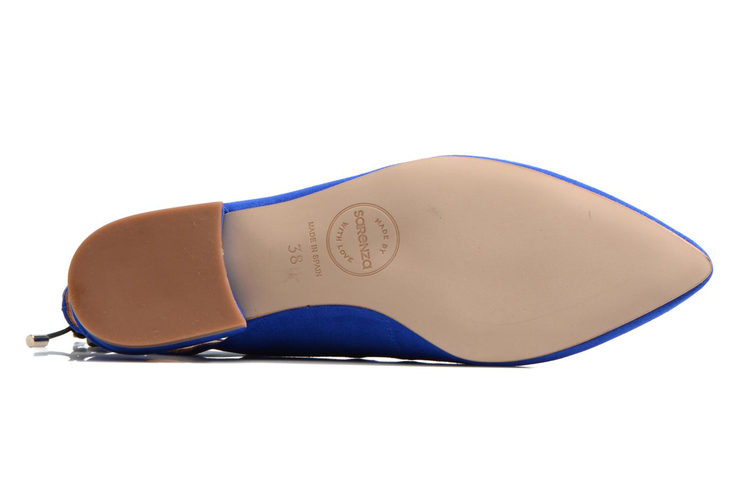 Ballet pumps Made by SARENZA Seven Tease #3 Blue view from above