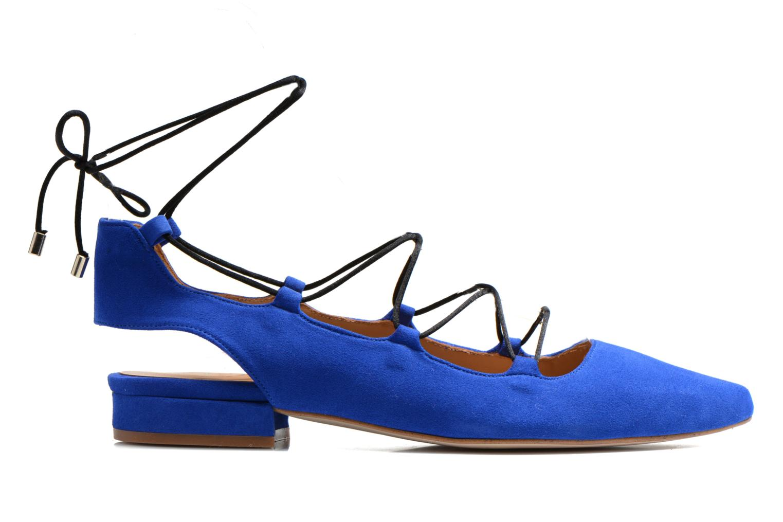Ballet pumps Made by SARENZA Seven Tease #3 Blue detailed view/ Pair view