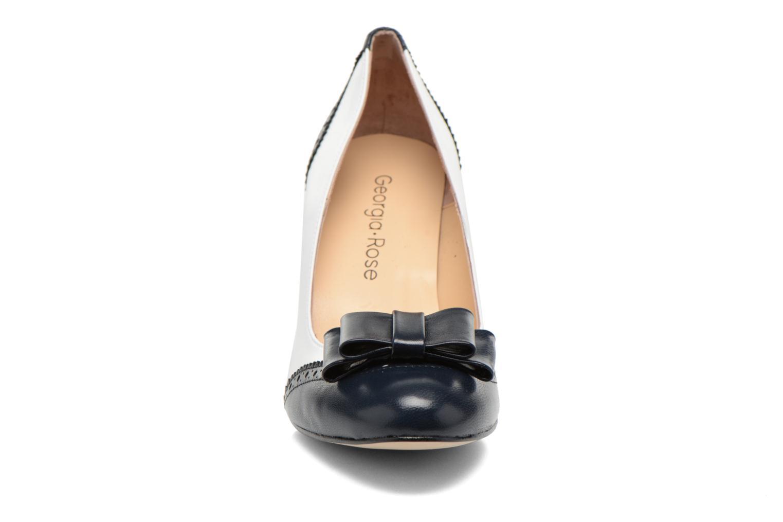 Escarpins Georgia Rose Poppie Blanc vue portées chaussures