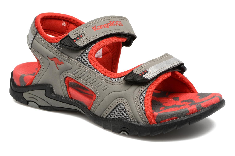 Sinclair 2 Semi grey/red