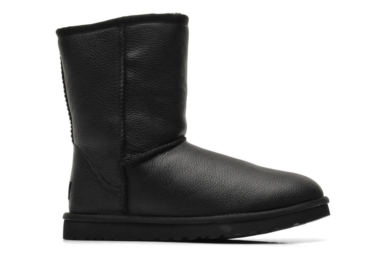 Bottines et boots UGG Classic Short Leather M Noir vue derrière
