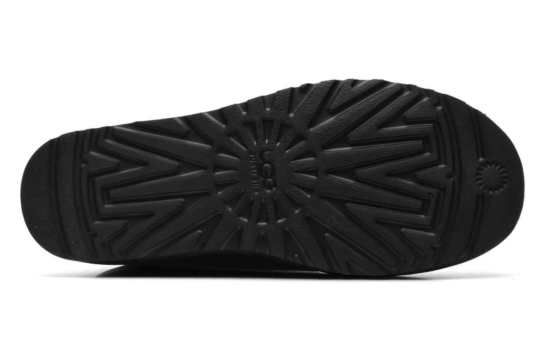 Bottines et boots UGG Classic Short Leather M Noir vue haut