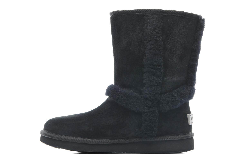 Boots en enkellaarsjes UGG Carter Zwart voorkant